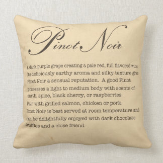 Almohada del pinot negro