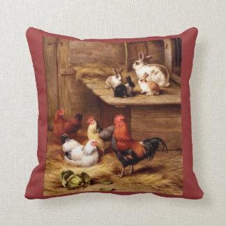 Almohada del pollo de las gallinas del gallo del