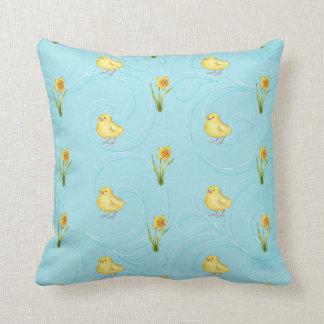 Almohada del polluelo de Pascua