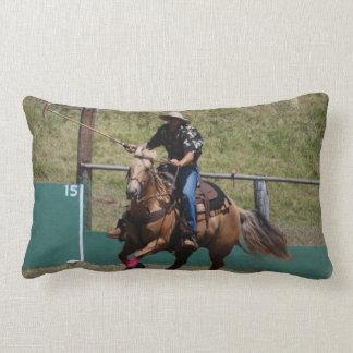 Almohada del polo del vaquero