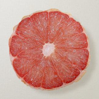 Almohada del pomelo cojín redondo