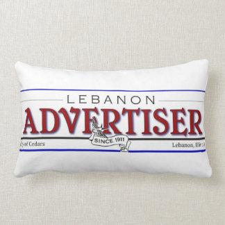 Almohada del publicista de Líbano Cojín Lumbar
