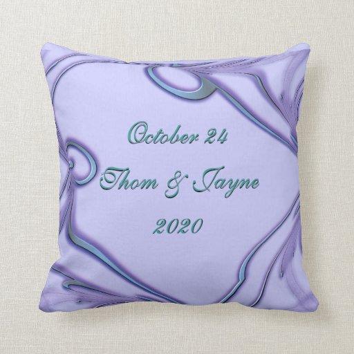 Almohada del regalo de boda - modifique para