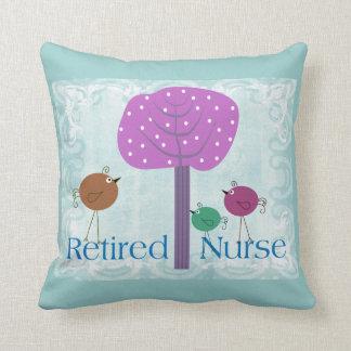 Almohada del retiro de la enfermera