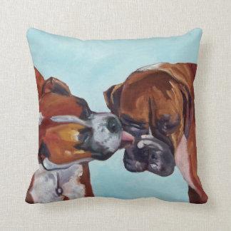 Almohada del retrato del mascota de los perros del