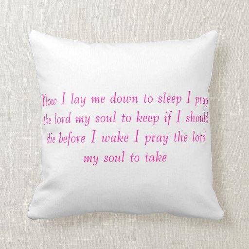 almohada del rezo del nightime