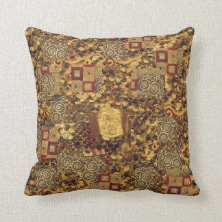 Almohada del rojo de Brown del oro de Nouveau Klim