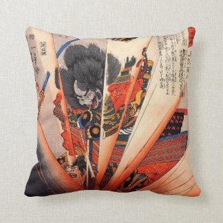 Almohada del samurai