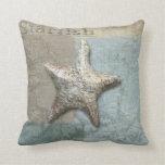 almohada del seahorse de las estrellas de mar, Cop