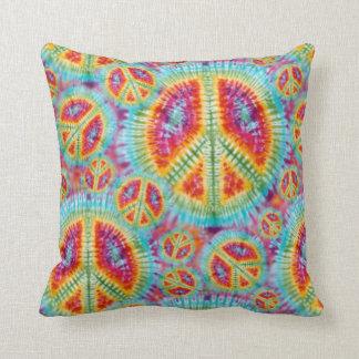 Almohada del signo de la paz del Hippie