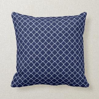 Almohada del sofá del tiro del monograma de