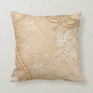 Almohada del sofá del tiro del monograma de la joy