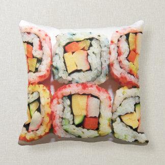 Almohada del sushi cojín decorativo
