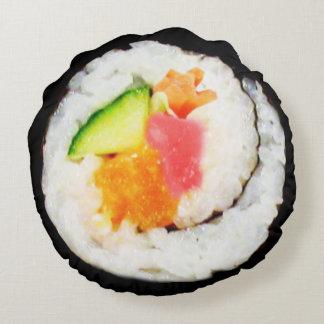 Almohada del sushi cojín redondo