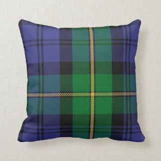 Almohada del tartán del clan de Gordon