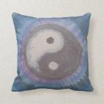 Almohada del teñido anudado de Yin Yang