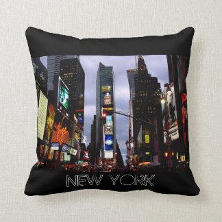 Almohada del Times Square del recuerdo NY de Nueva