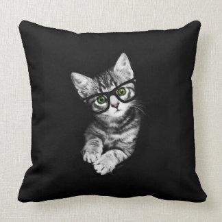 Almohada del tiro del amante del gatito del cojín decorativo