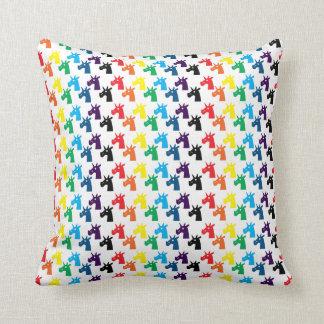 Almohada del unicornio cojín decorativo
