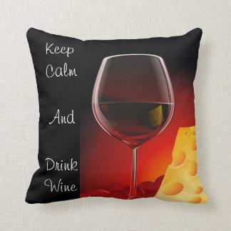 Almohada del vino y del queso