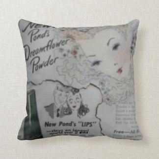 Almohada del vintage, almohada de MoJo del america