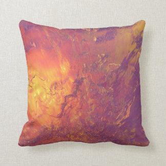 Almohada del volcán cojín decorativo