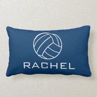 Almohada del voleibol de los azules marinos cojín lumbar
