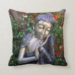 Almohada el   Buda de plata