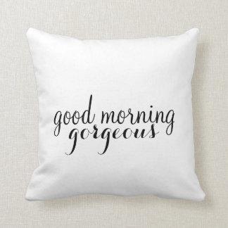 Almohada el | el suyo - buena mañana (estilo 2)