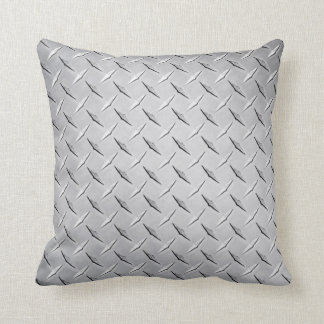 Almohada en la placa de plata del diamante cojín decorativo