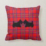 Almohada escocesa de los terrieres