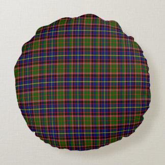 Almohada escocesa del tartán de Aikenhead Cojín Redondo