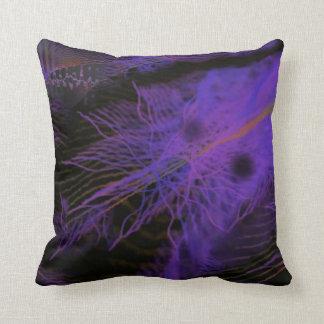 Almohada - estructuras púrpuras - diseño del arte cojín decorativo