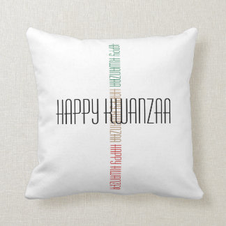 Almohada feliz de Kwanzaa