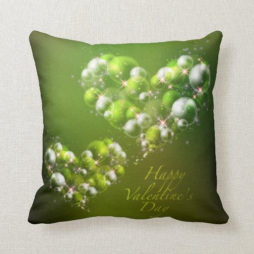 Almohada feliz del el día de San Valentín 19 Cojín Decorativo