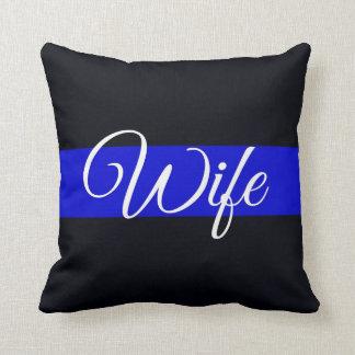 Almohada fina de la esposa de Blue Line