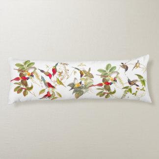 Almohada floral animal del cuerpo de los pájaros