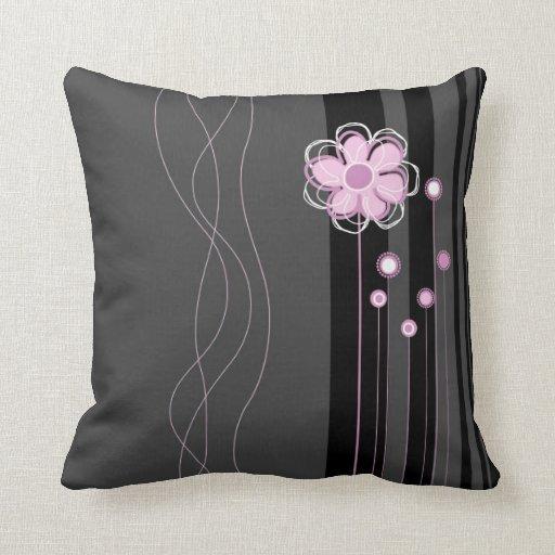 Almohada floral de la decoración