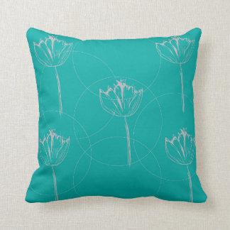 Almohada floral del trullo cojín decorativo