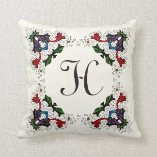 Almohada florentina colorida de la decoración del