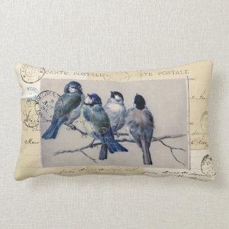 Almohada francesa de las postales de los Bluebirds