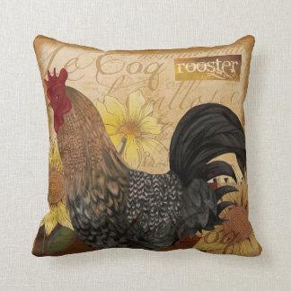 Almohada francesa del gallo del país