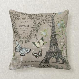 almohada francesa del jardín de la torre Eiffel de