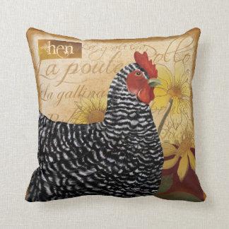 Almohada francesa del pollo del país