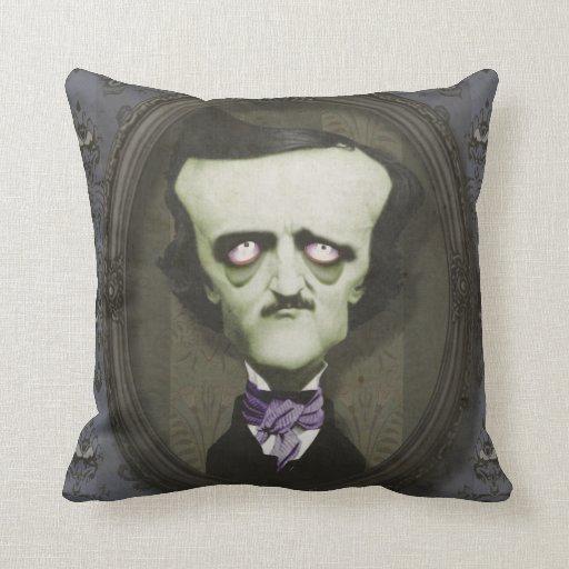 Almohada frecuentada de Edgar Alan Poe Mojo del zo