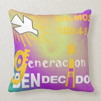 Almohada - Generacion Bendecido© 20x20