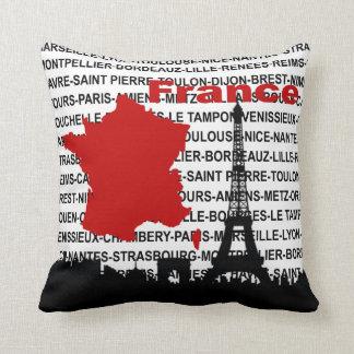 Almohada gráfica de Francia