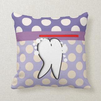 Almohada grande del diente del higienista dental