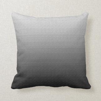 Almohada gris impresionante de Ombre