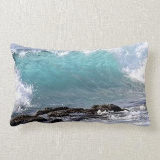 Almohada hermosa del Lumbar de la onda de la